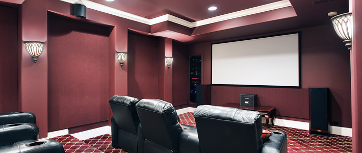 Muskegon Media Room Remodeling
